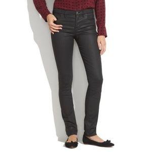 Madewell Skinny skinny coated pants jeans
